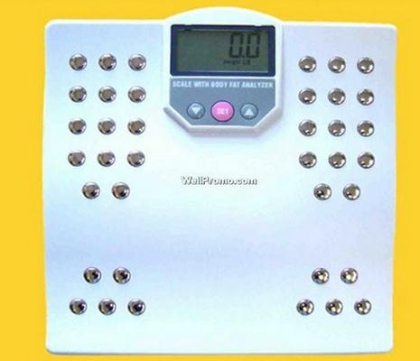 Body Fat Analyzer & scale for body weight & fat measurement
